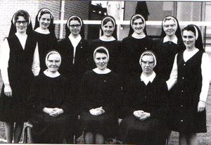 Past Pupils of Cnoc Mhuire who became Sisters of Mercy